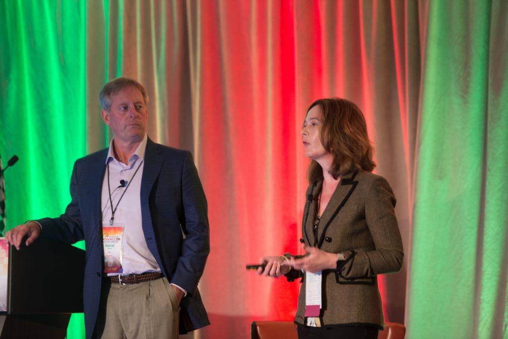David Grandin, founder and CEO, Kiio, and Lydia Zeller, vice president of product strategy, Kiio